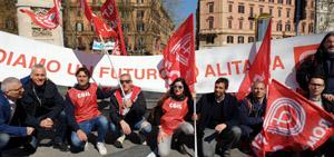 Huelga en Italia