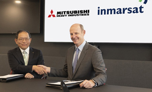 Inmarsat y Mitsubishi